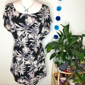 One Clothing Palm Zipper Pocket Dress L